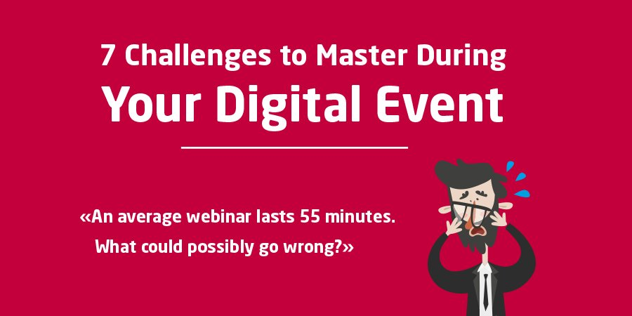 7 challenges digital events