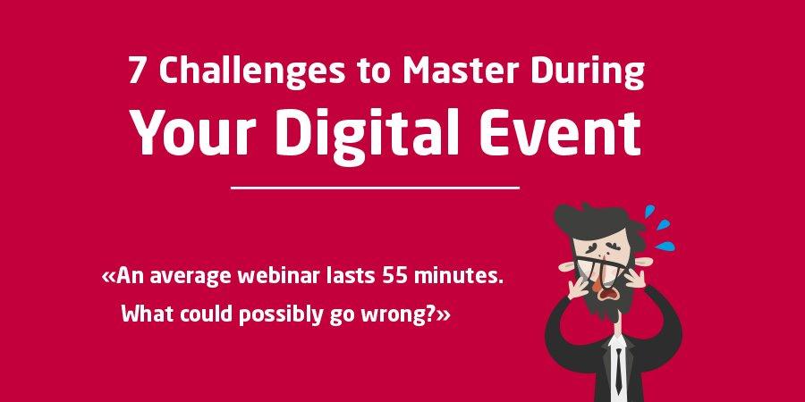 7 challenges digital events