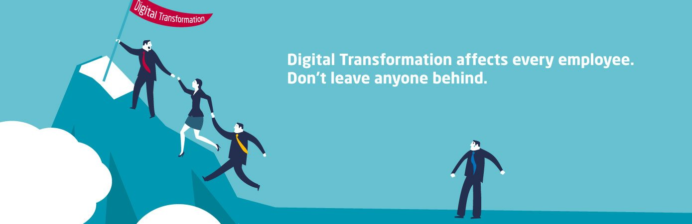 Individuals on cloud transformation journey
