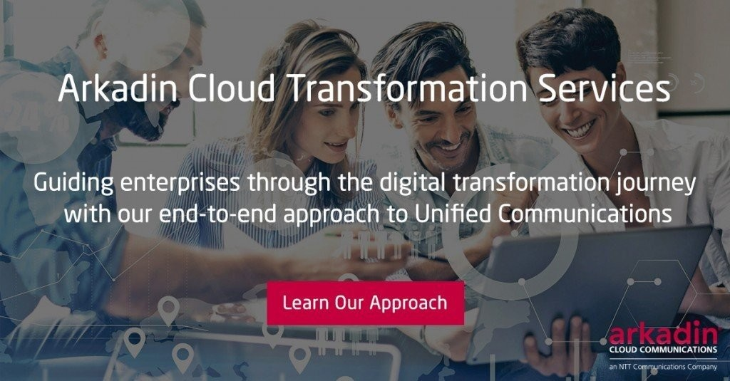 Arkadin Cloud Transformation Services for Digital Transformation Projects