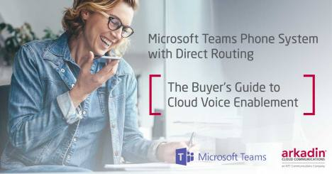 Microsoft Teams Direct Routing - The buyer's guide to cloud voice enablement