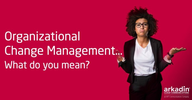 Organizational Change Management - What do you mean?