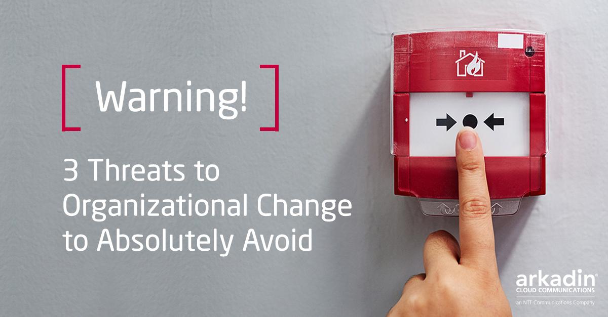 Threats to Organizational Change