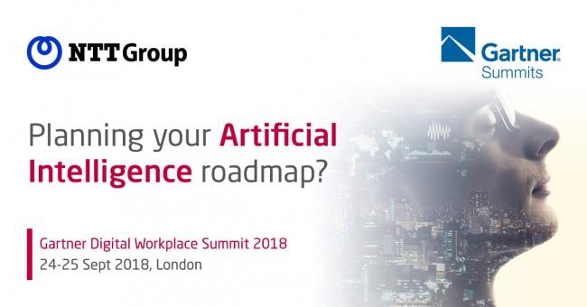 Planning your Artifical Intelligence Roadmap - Arkadin Speaker Session at Gartner Digital Workplace Summit