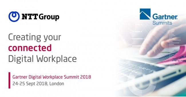 Arkadin and NTT at Gartner Digital Workplace Summit 2018