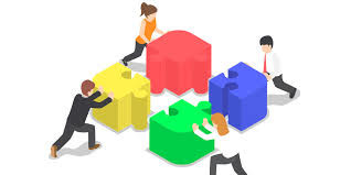 Digital Engagement model working together