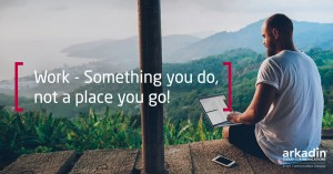 Work - Something You Do Not A Place You Go LinkedIn