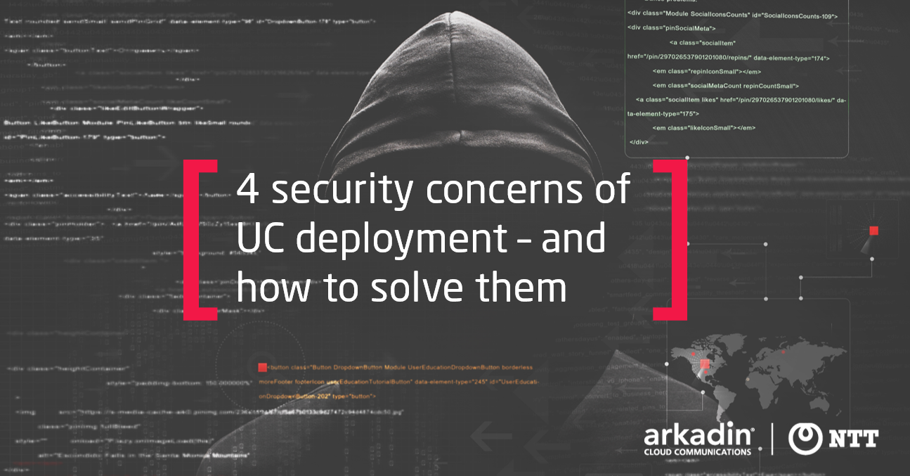 Security Concerns for UC Deployment