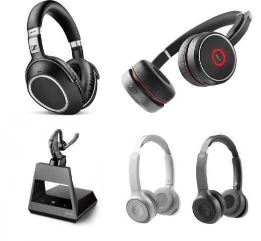 A range of quality headsets