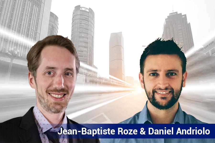 Pictures of Jean-Baptiste Roze & Daniel Andriolo