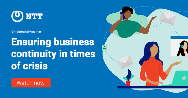 Click through to watch the 'Ensuring business continuity in times of crisis' webinar